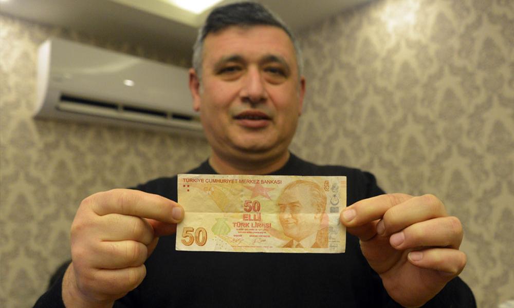 Bu paranın değeri tam 50 bin lira