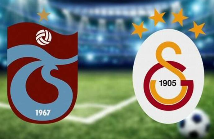 Derbide beraberlik… Trabzonspor:1 Galatasaray:1