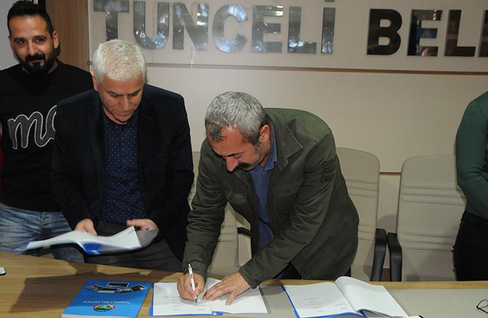 'Komünist Başkan' imzaladı: Tunceli Belediyesi'nden örnek karar