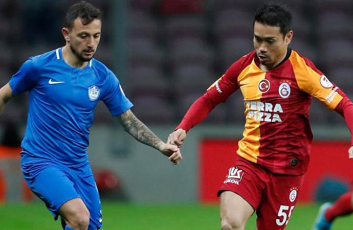 GS kendi sahasında 8 eksikli Tuzlaspor'a 2-0 mağlup oldu
