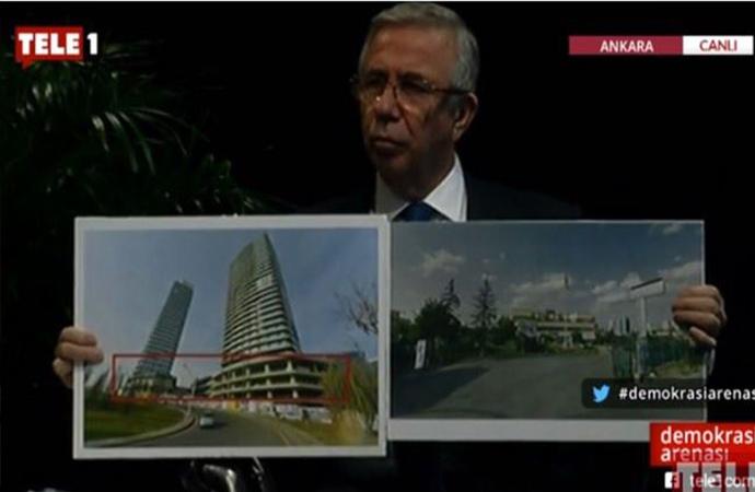 Demokrasi Arenası | Mansur Yavaş Tele1'de açıkladı: 30 milyar lira birilerinin cebine gitti