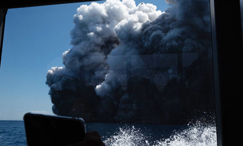 Yeni Zelanda'da yanardağ faciası: Çok sayıda ölü ve yaralı var
