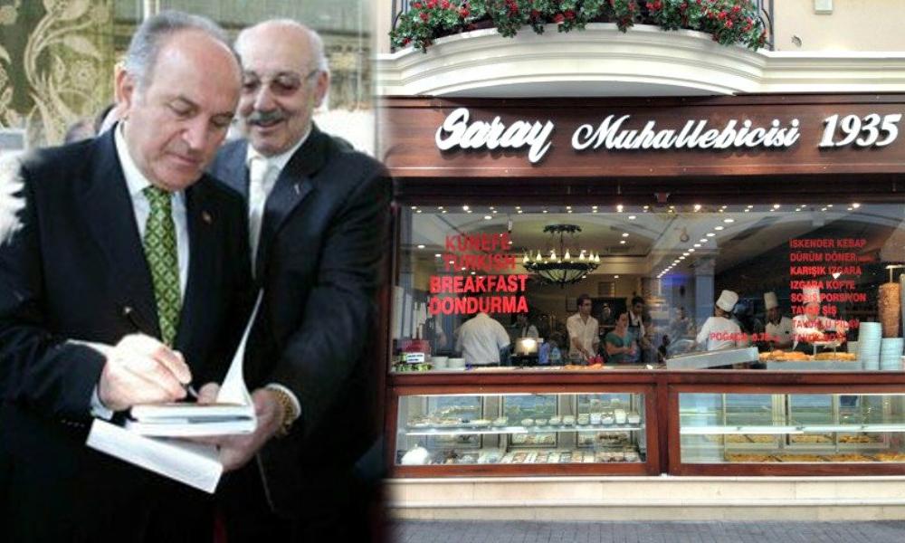 İBB eski Başkanı Kadir Topbaş'ın 'Saray'ı yüksek kiraya yenik düştü!