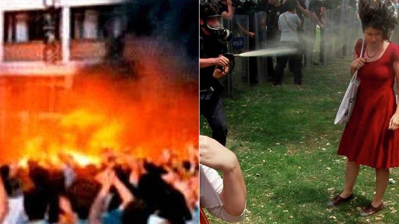 Gerici Akit yazarı Sivas Katliamı ile Gezi'yi kıyasladı: Sivas'taki eylemin tamamı topu topu 6 saat sürdü!