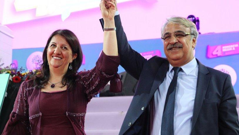 HDP'nin yeni Eş Genel Başkanları Buldan ve Sancar