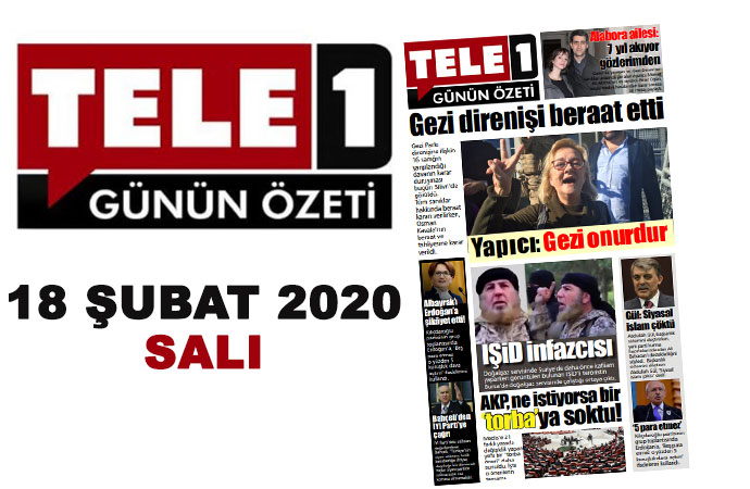 Gezi beraat etti. Alabora: 7 yıl akıyor gözlerimden. Doğazgaz elemanı terörist çıkarsa! Libya'da Türk gemisine saldırı. Öğrencinin parasızlık intiharı…18 Şubat günün özeti