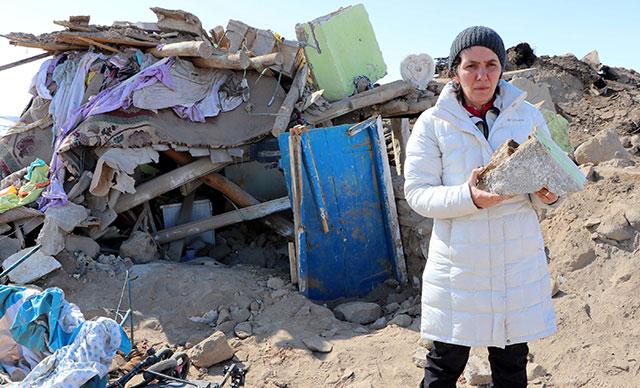 Deprem bölgesinde yapılan incelemede çarpıcı detay…