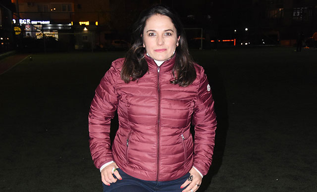 İzmir'de futbola bir kadın başkan daha