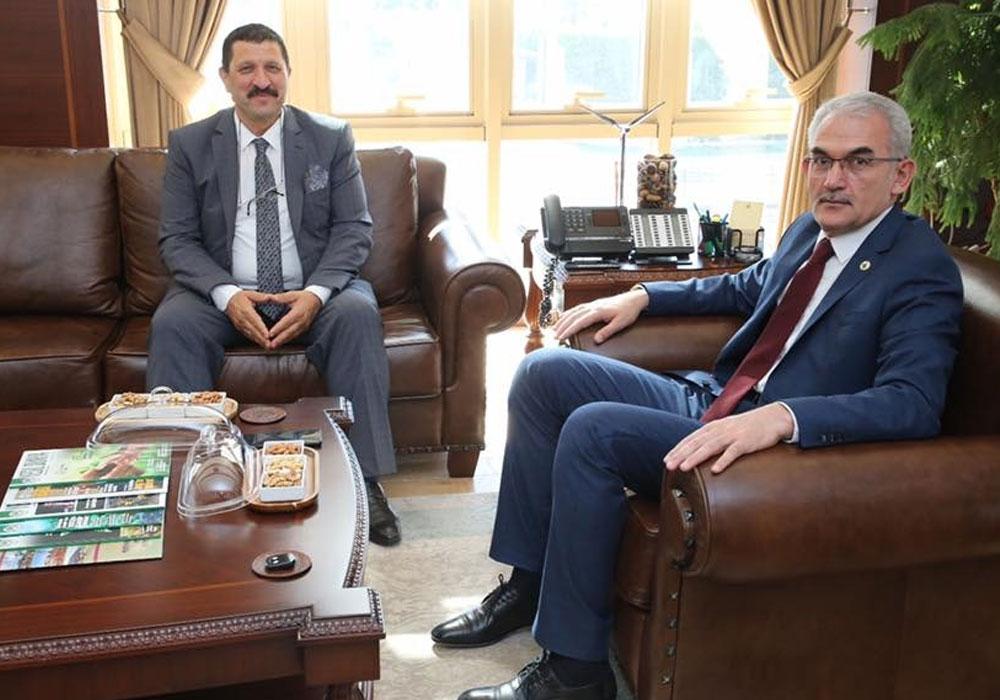Hakkında soruşturma başlatılan AKP'li başkan soluğu Orman Genel Müdürlüğü'nde aldı