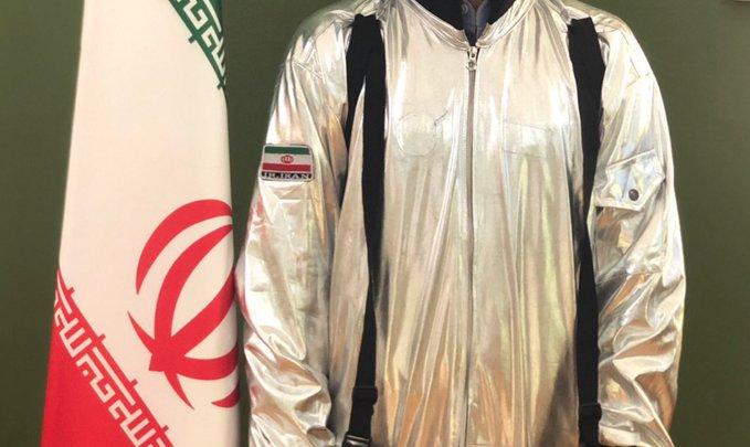 İran'ın astronot kostümü sosyal medyanın gündemine bomba gibi düştü!