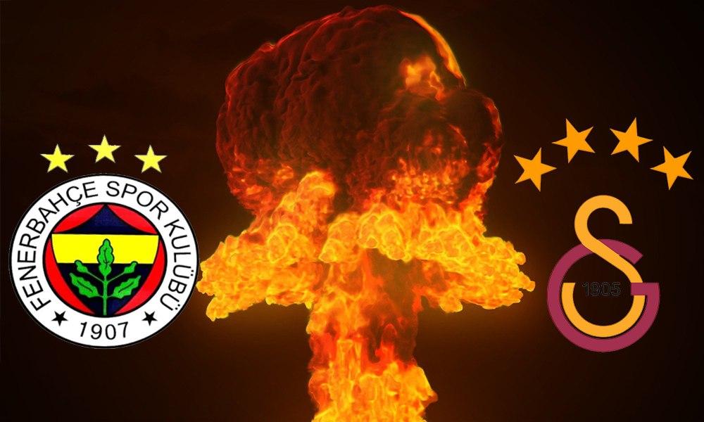 Fenerbahçe'den Galatasaray'a pankart cevabı!