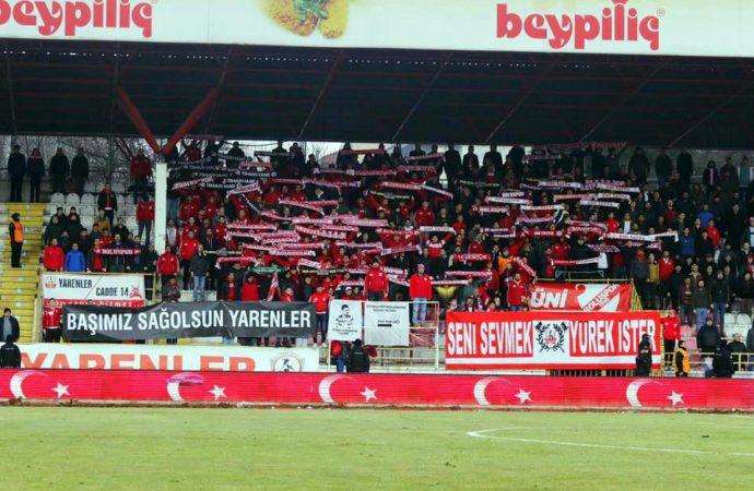 Boluspor – Büyükşehir Belediye Erzurumspor: 1-1