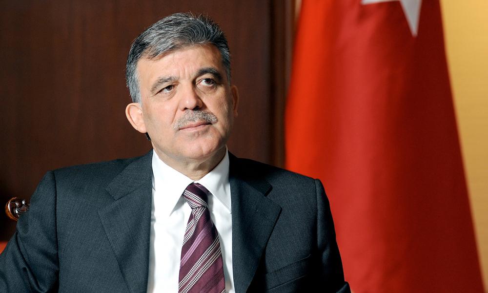 Abdullah Gül, yeni imajıyla ortaya çıktı