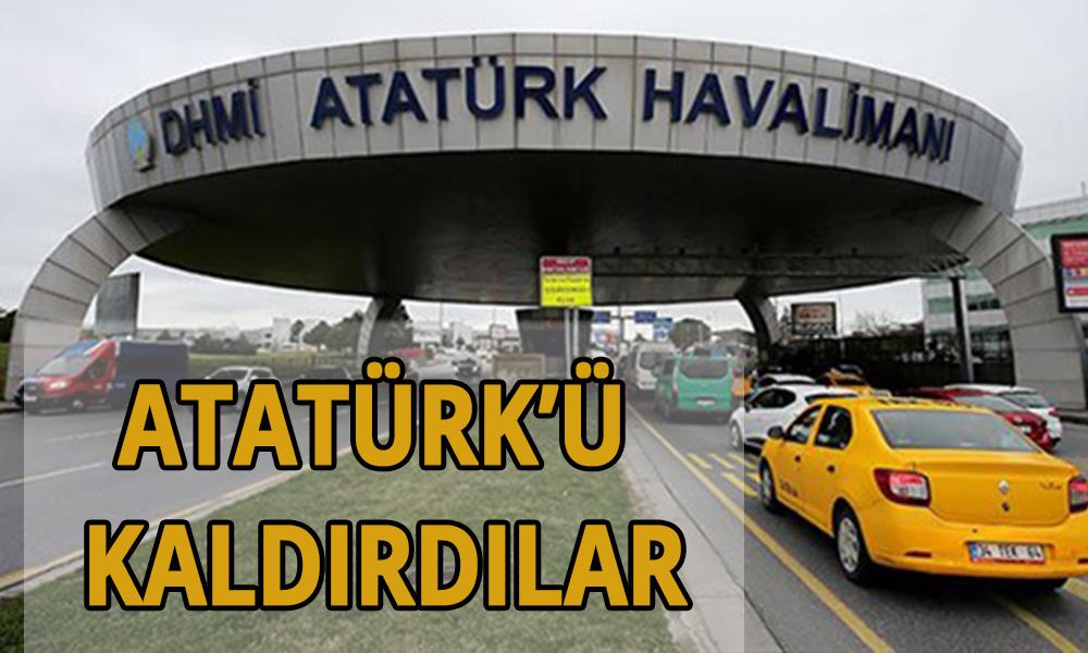 İstanbul Atatürk Havalimanı'ndan Ata'nın adını da kaldırdılar… Erdoğan imzaladı, Resmi gazetede yayımlandı