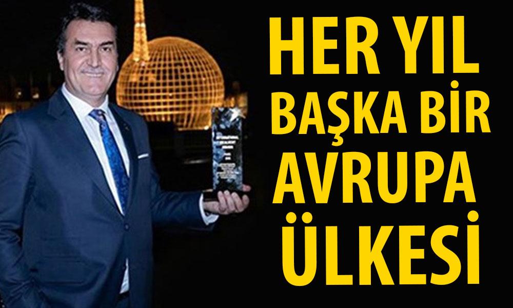 AKP'li belediyeler, her yıl ayrı bir Avrupa ülkesinden çakma ödül almış!