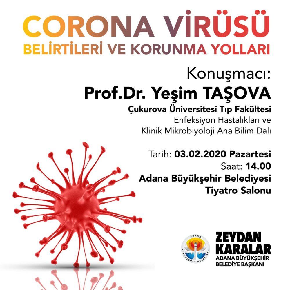 Büyükşehir'den Koronavirüsüyle ilgili konferans