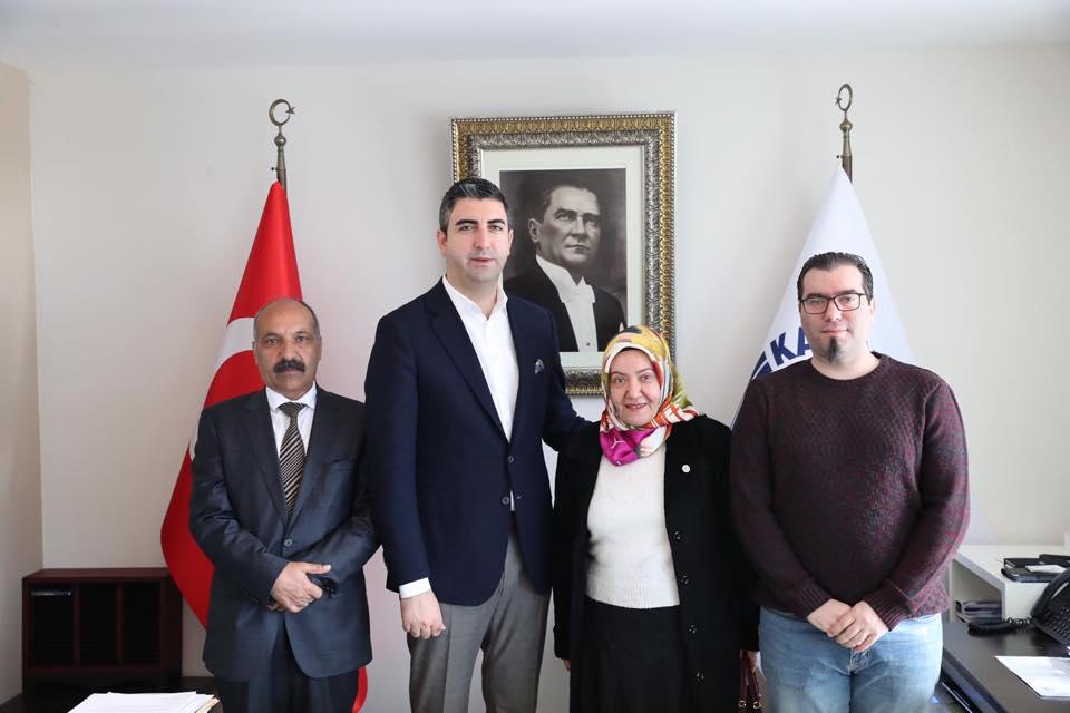 Dernek Başkanları ve Yöneticilerinden Başkan Gökhan Yüksel'e ziyaret