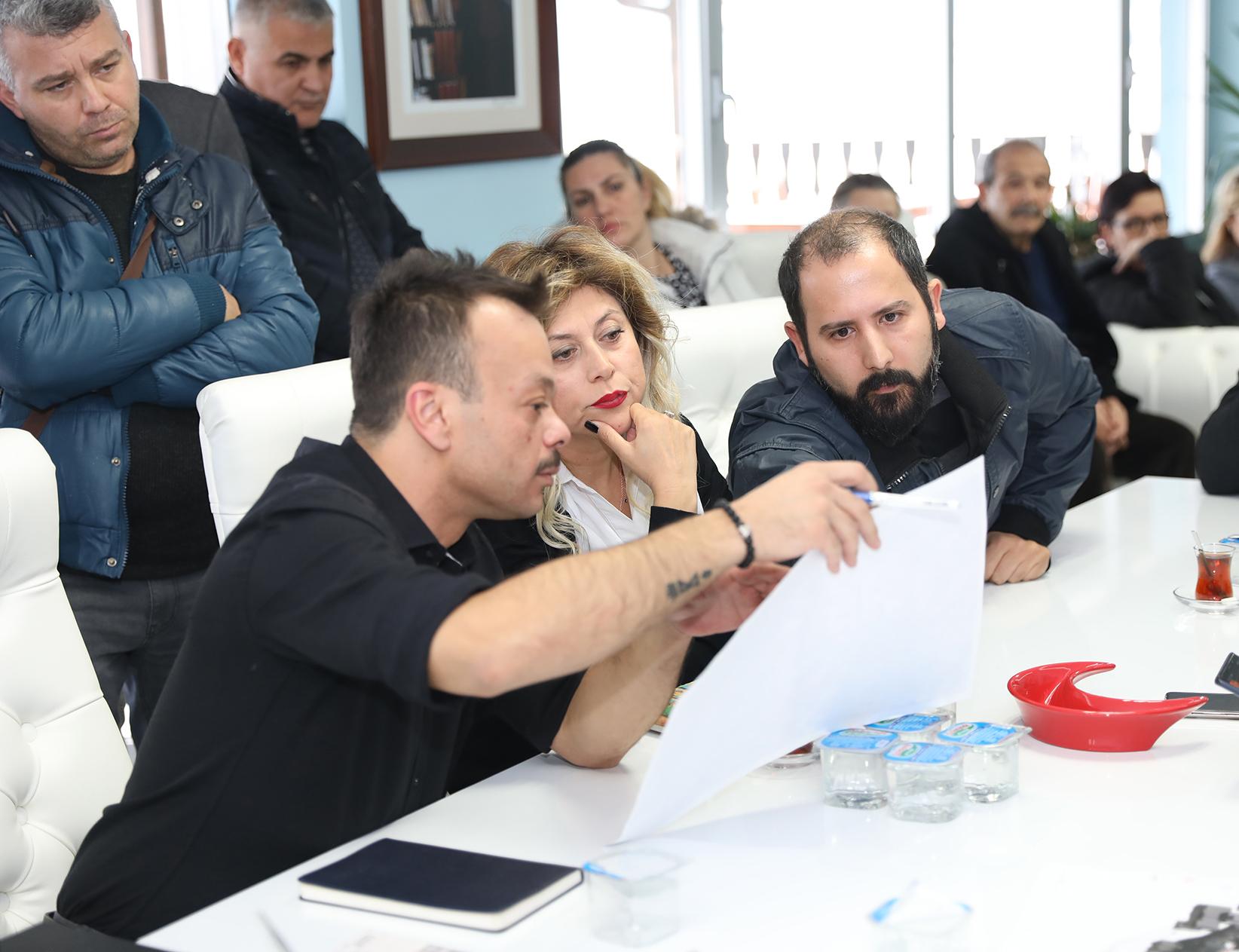 Başkan Türkyılmaz: Myrleia evleri'nin yol sorunu çözülecek