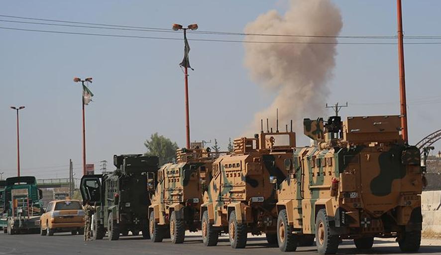 50 araçlık Türk askeri konvoyu İdlib'e girdi!