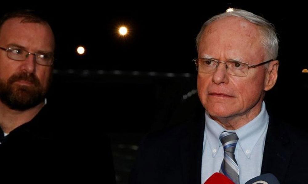 Türk yetkilileri ile görüşen ABD Suriye Özel Temsilcisi Jeffrey'den açıklama