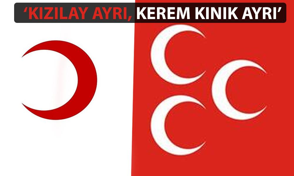MHP'den Kızılay Başkanı'na istifa çağrısı!
