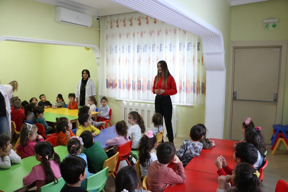 Kartal Belediyesi'nden kreşli miniklere İlk yardım ve Afet bilinçlendirme eğitimi
