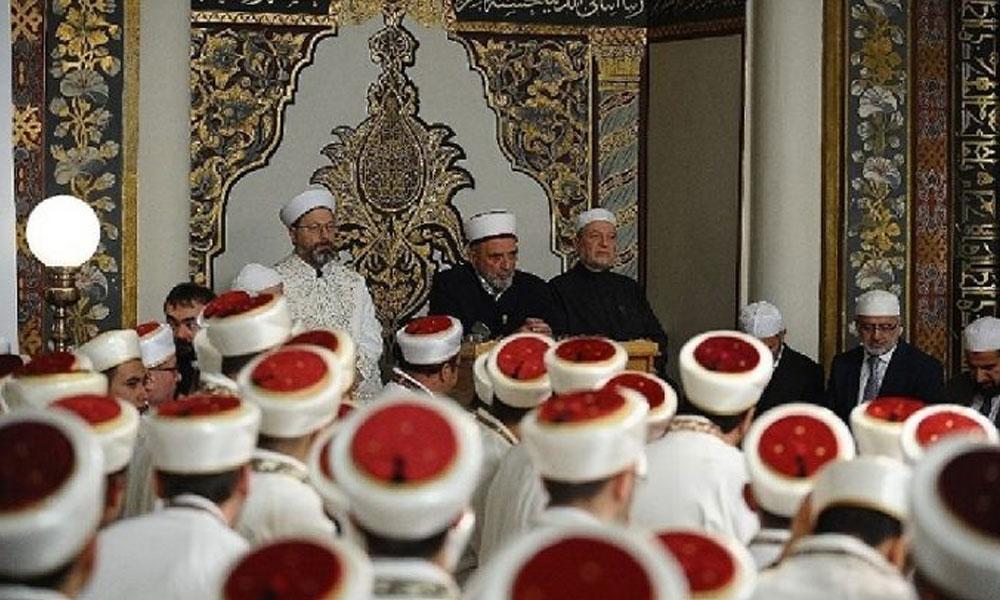 Müftü ile imam birbirine girdi… 'Otur yerine terbiyesizlik yapma'