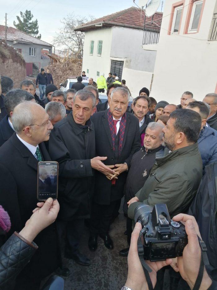 Zeydan Karalar ve Kemal Kılıçdaroğlu, Elazığ'ın ardından Malatya'da…