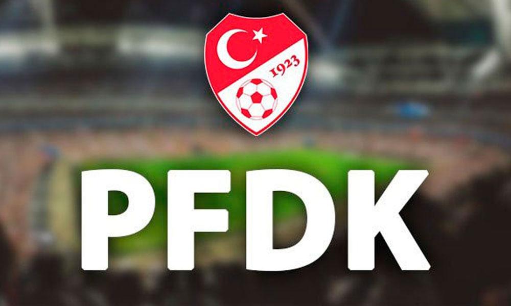 PFDK'den iki kulübe ceza!