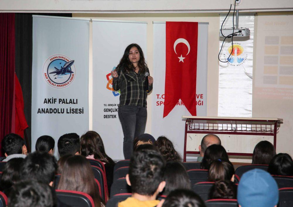 Büyükşehir'den öğretmen ve öğrencilere Temel Afet Bilinci eğitimi