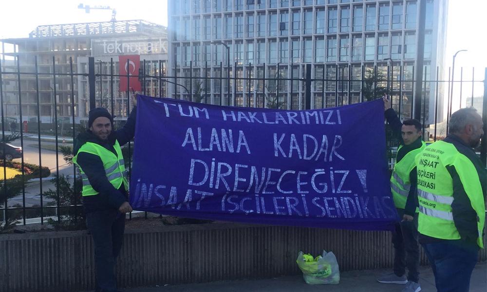 Erdoğan'ın törenle açtığı Teknopark işçilerinin isyanı: Polis bile haksızın yanında