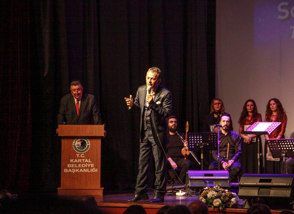 Şarkı ve türküler usta sanatçı Yakup Esen için seslendirildi