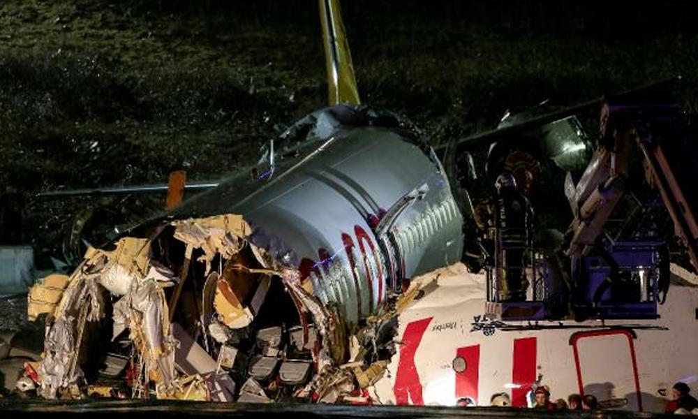 İstanbul'daki uçak kazasıyla ilgili flaş gelişme!
