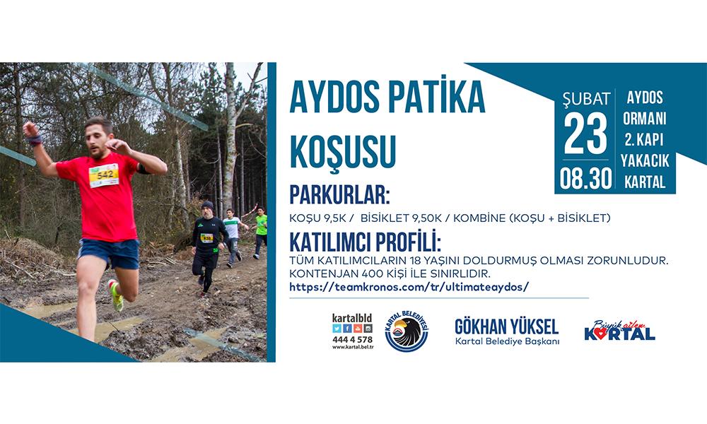 Aydos Patika Koşusu'nun 10'uncusu düzenleniyor