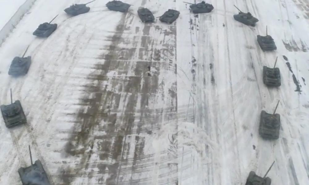 Rus askerden 16 tanklı evlenme teklifi!