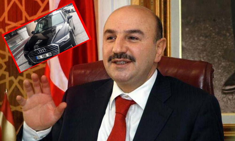 AKP'li Başkan 600 bin liralık araç kullanıyor! Belediyenin borcu 465 milyon lira…