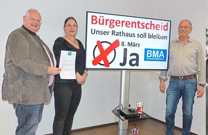 Almanya' da belediye binası için referandum
