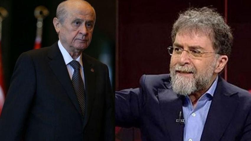Devlet Bahçeli'den Ahmet Hakan'a: 'İspatlamazsan alçaksın'