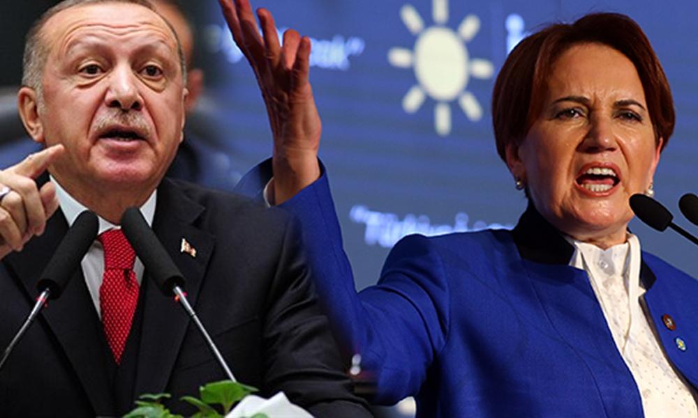 Akşener'den Erdoğan'na: Yeni Cami'de dilenip, Sultanahmet'te sadaka dağıtamazsınız