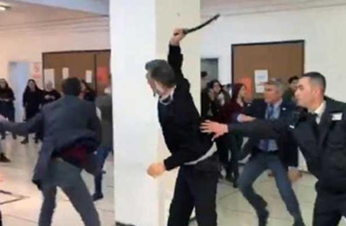 Güvenlik görevlilerinin copla dövdüğü öğrencilere soruşturma