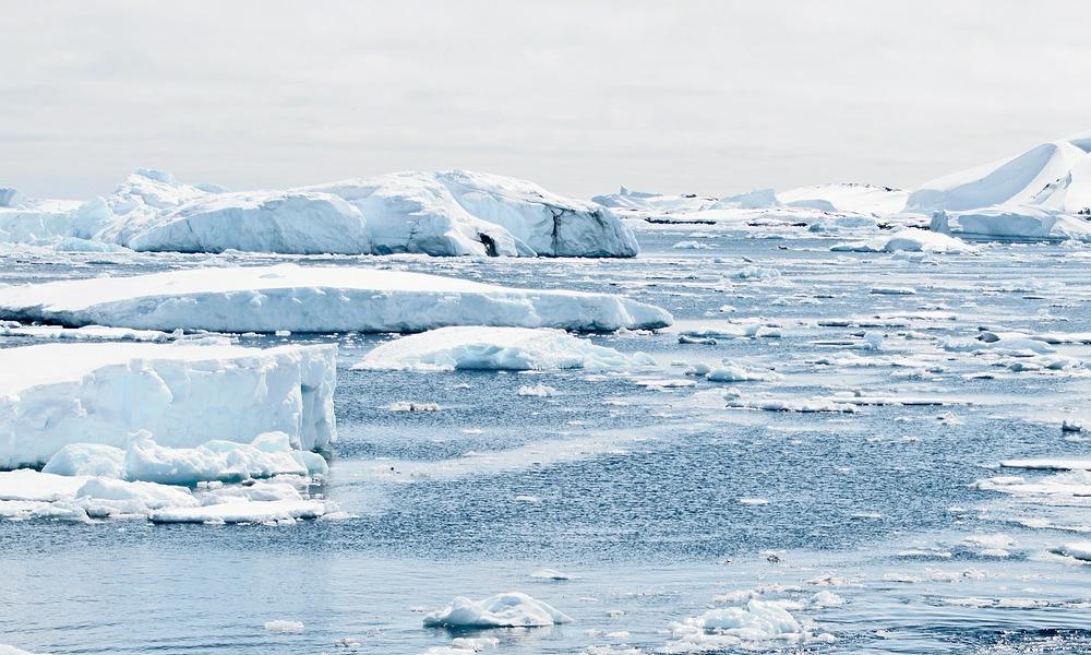 Antarktika'daki erime fotoğraflandı!