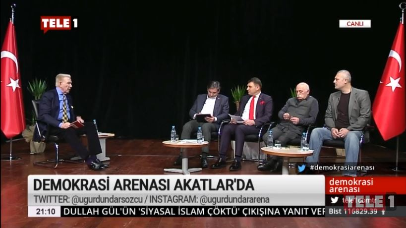 Demokrasi Arenası   Emekli Tuğamiral Türker Ertürk: TSK'yı, Atatürk'ün yaptığı gibi sınırlarımıza çekmemiz lazım