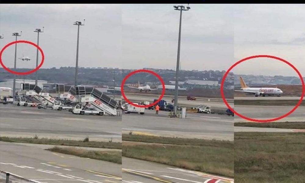 Havada panik… Geçen hafta uçak kazası olan Sabiha Gökçen'e acil iniş