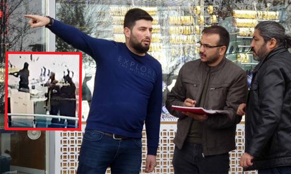 Konya'da kuyumcu soygunu… 'Kafama silah dayadılar'