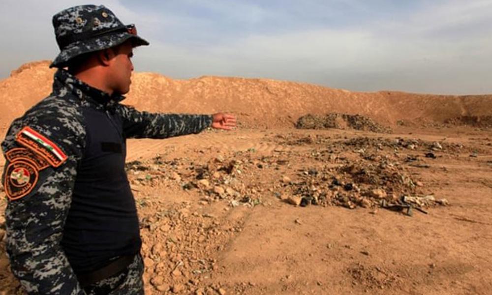IŞİD vahşeti! Canlı canlı çukura atmışlar, bin kişilik toplu mezar…