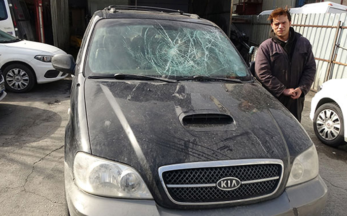 Trafik magandalarını uyardı dehşeti yaşadı… 'Hepsinin gözü dönmüştü'
