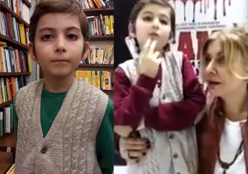 Sosyal medya 10 yaşındaki Atakan'ı konuşuyor… İzleyenleri kendine hayran bıraktı