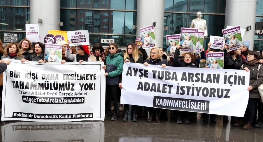 Eski eşi tarafından katledilen Ayşe Tuğba Arslan'ın davasında karar çıkmadı
