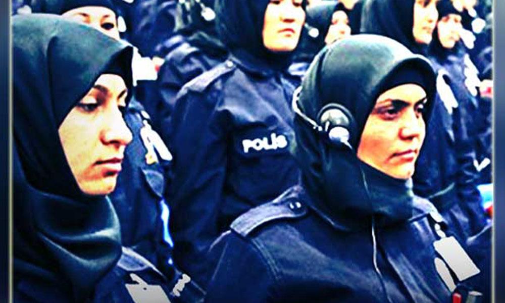 'Başı kapalı polis mi olur' dedi, üç yıl hapsi istendi