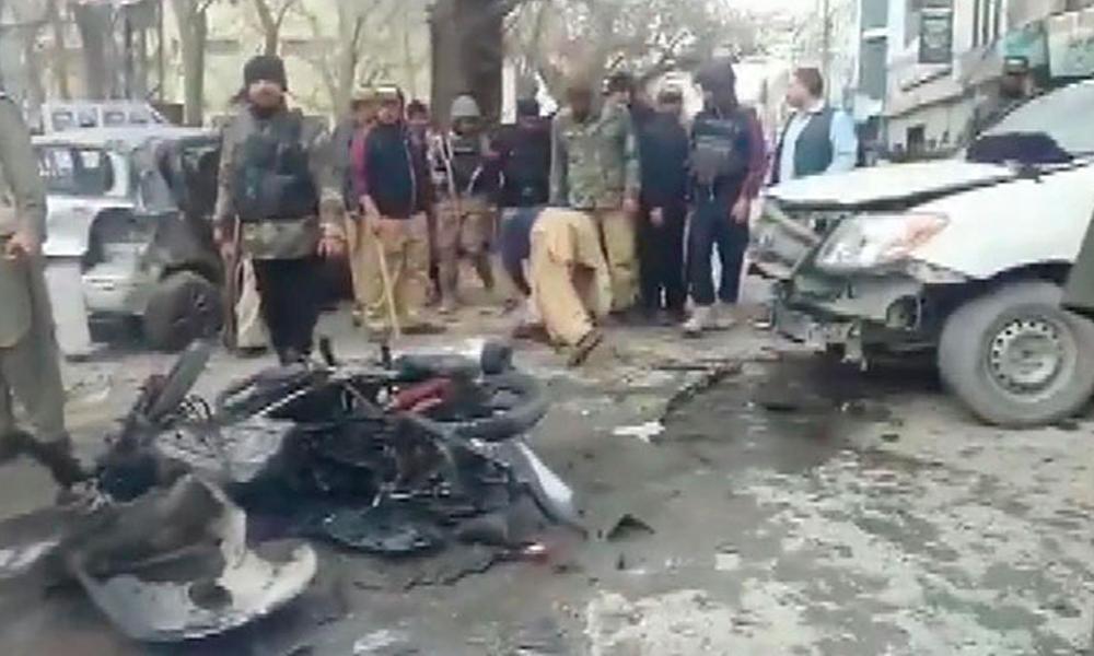 'Basın Birliği' binası yakınında patlama: 5 ölü